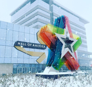 Bloomington, Minn.-based Mall of America. Photos: Mall of America Instagram page.