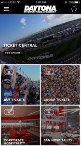 Screenshot of Daytona app. Credit: AVAI Mobile