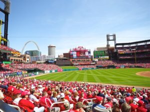 Busch Stadium, St. Louis, home of a new MLBAM Wi-FI network. Credit all photos: St. Louis Cardinals