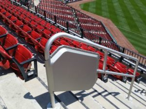 Wi-Fi railing enclosure.