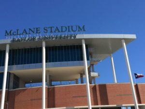 Baylor's McLane Stadium. Credit: Paul Kapustka, MSR