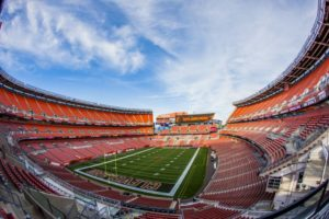 FirstEnergy Stadium, home of the Cleveland Browns. Credit: Cleveland Browns.