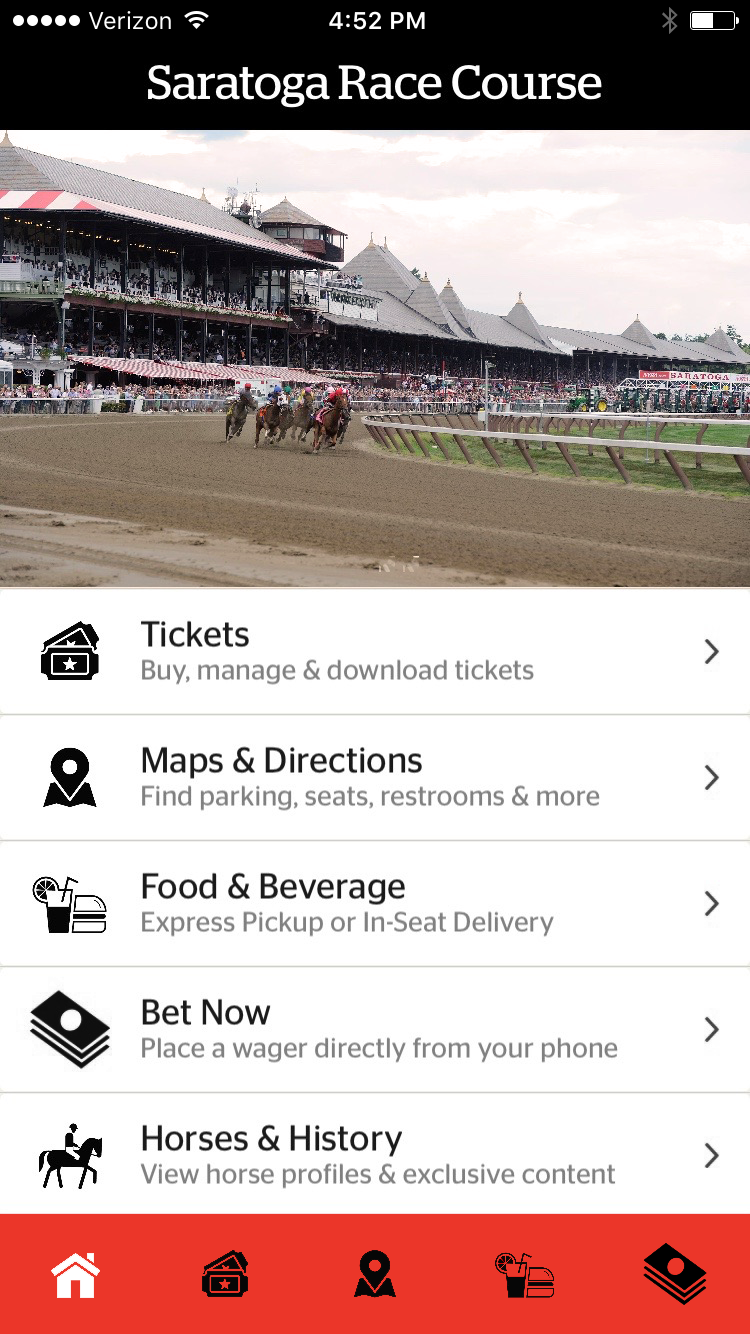 Belmont, Saratoga race tracks to get VenueNext app in 2017
