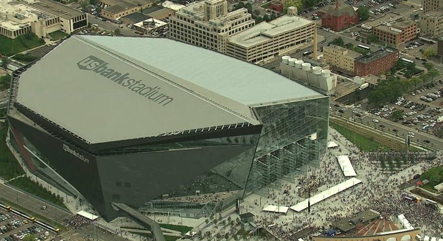 Super Bowl Atmosphere Produces TB Of WiFi Use At Vikings - Us bank stadium concessions map