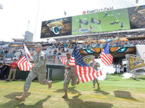 Pregame activity at EverBank Field last weekend. Credit: Jaguars.com.