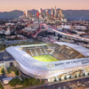 Artist rendering of Banc of California Stadium, slated to open in 2018. Credit: LAFC