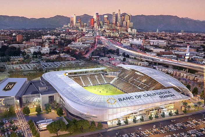 Ibm Lands Tech Deal For New L A Soccer Stadium