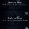 Screenshot from new San Jose Sharks app developed by VenueNext. Credit: VenueNext