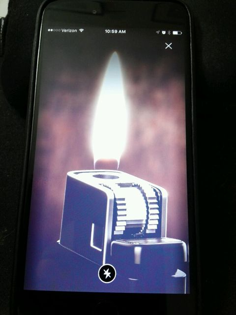 For concerts -- who needs a lighter when the app can provide?