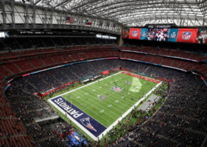 NRG Stadium during Super Bowl LI. Credit: AP / Morry Gash/ Patriots.com
