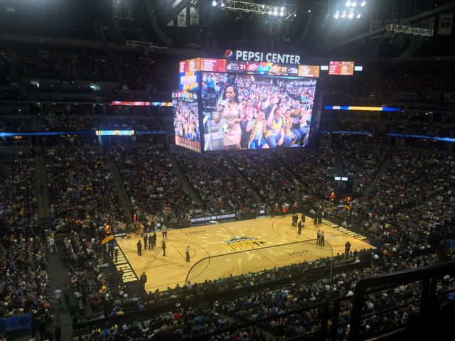 Pepsi Center: Nuggets Game Visit Shows Wi-Fi Solid At Denver's Pepsi Center