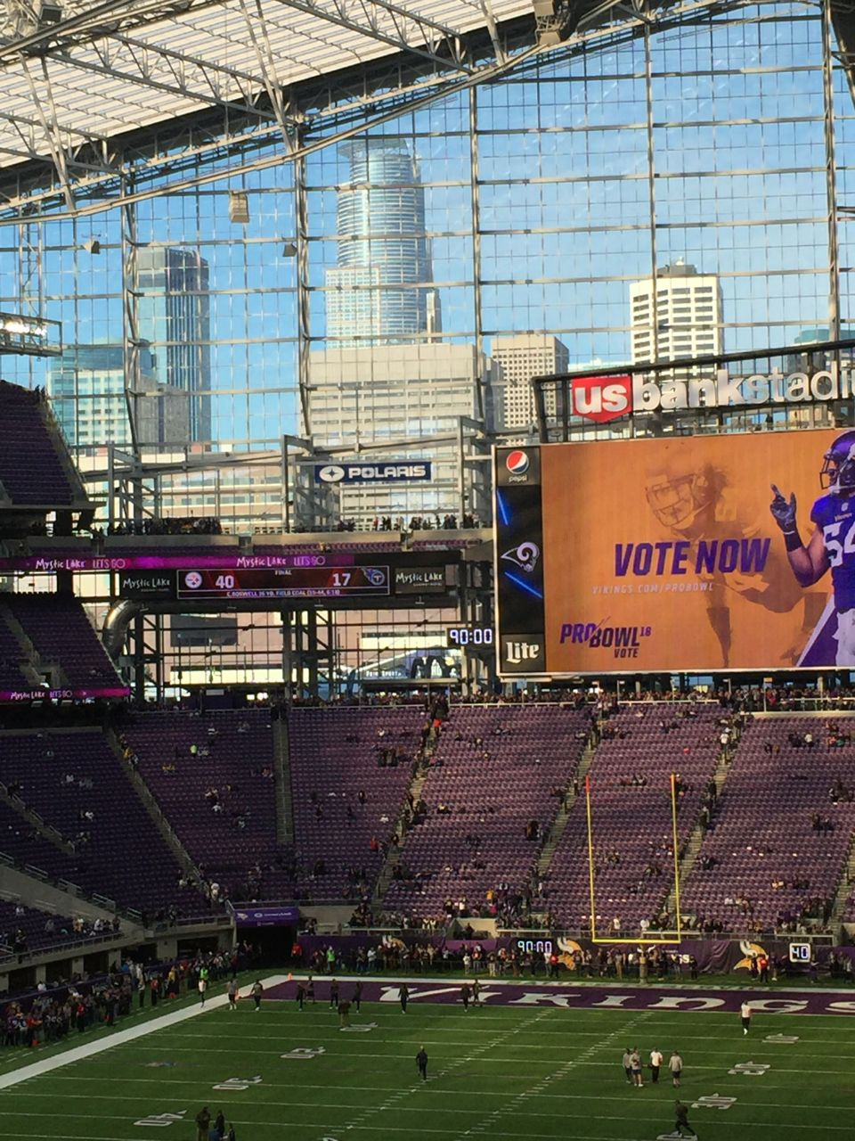 Exterior: 'Super' Wi-Fi And DAS At U.S. Bank Stadium Ready For Super