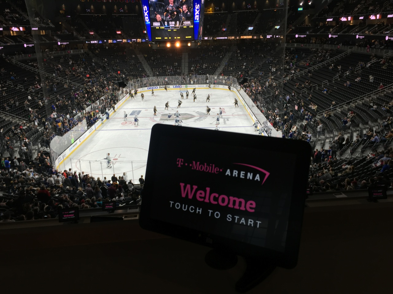 Vegas Golden Knights get Wi-Fi boost at T-Mobile Arena