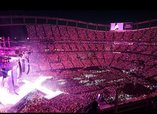 Taylor Swift Show Sets Wi Fi Record At Mile High With 8 1 Tb Used