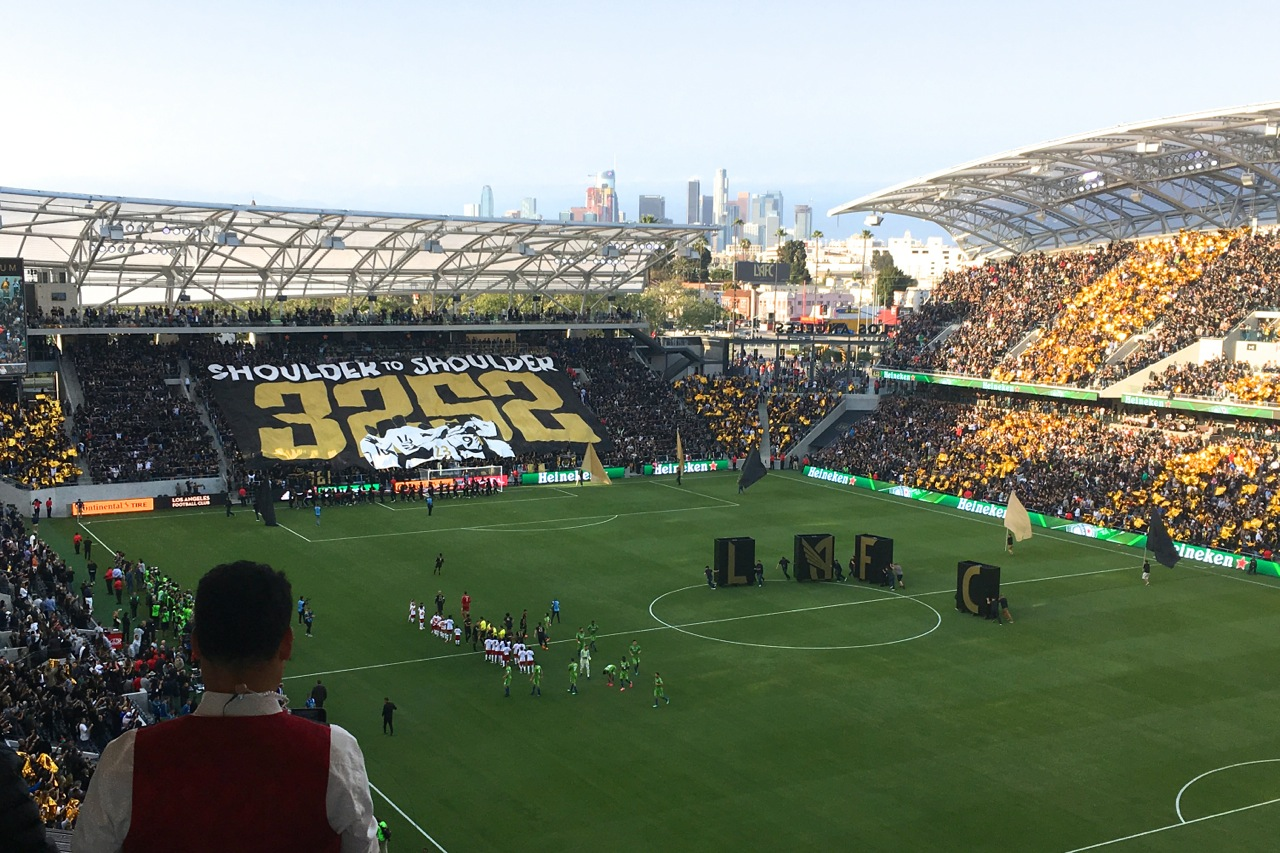 Successful Opener For Lafc At Banc Of California Stadium In