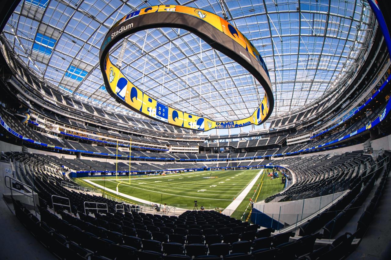 Converged Innovation Sofi Stadium S Networks Break New Ground